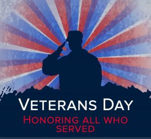 Veterans Day 2020: Honoring all who served.